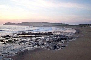 Constantine Bay at dusk