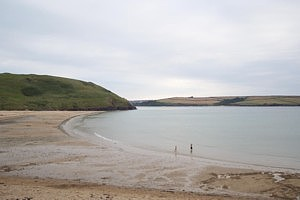 Daymer at half tide...Like a mill pond....