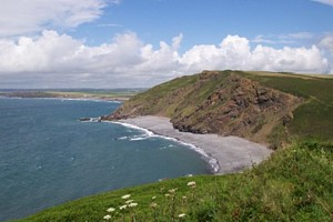 Millook, north of Crackington Haven