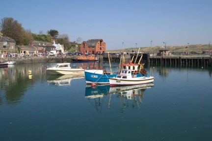 Padstow harbour is a magical place of sights and sounds of the sea.