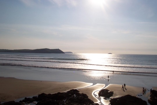Polzeath is absolutely stunning.