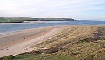 The dunes are a favorite for beach dwellers has they afford excellent views whilst being a stones throw from the sea.