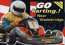 St Eval Kart Circuit offers 800m/1000m/1200m tracks including a flyover.