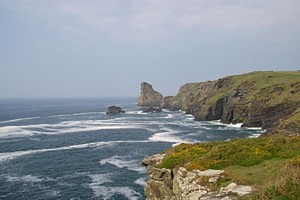 View North from Bossiney