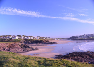 View of New Polzeath and Polzeath