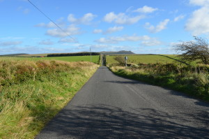 The road to Roughtor