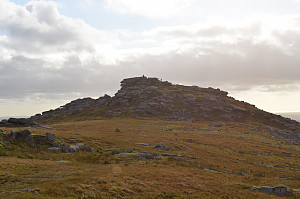 Roughtor - View of the summit
